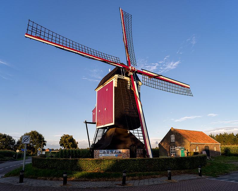 Ständer Mühle in Stramproy