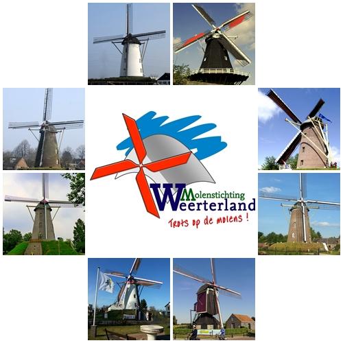 logo met acht windmolens