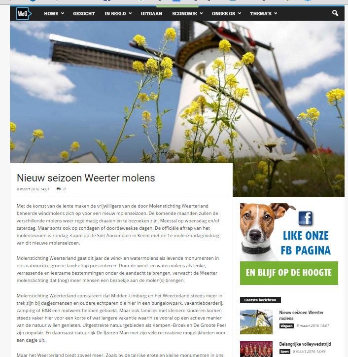 Nieuwswebsite WdG