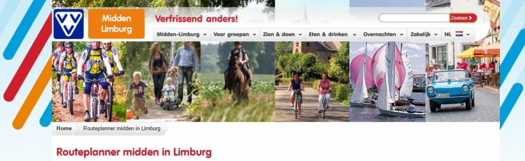 Routeplanner VVV Midden-Limburg