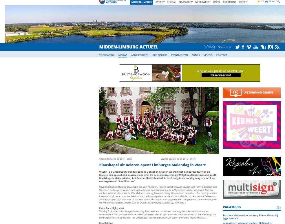 Midden Limburg Actueel