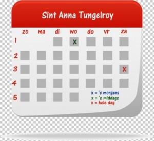 Dagen van openstelling Sint Annamolen Tungelroy