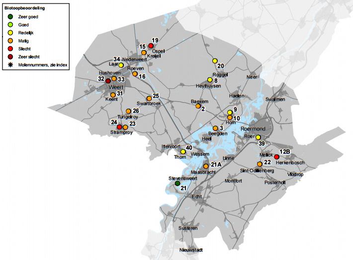 Biotoopsituatie in Midden  Limburg