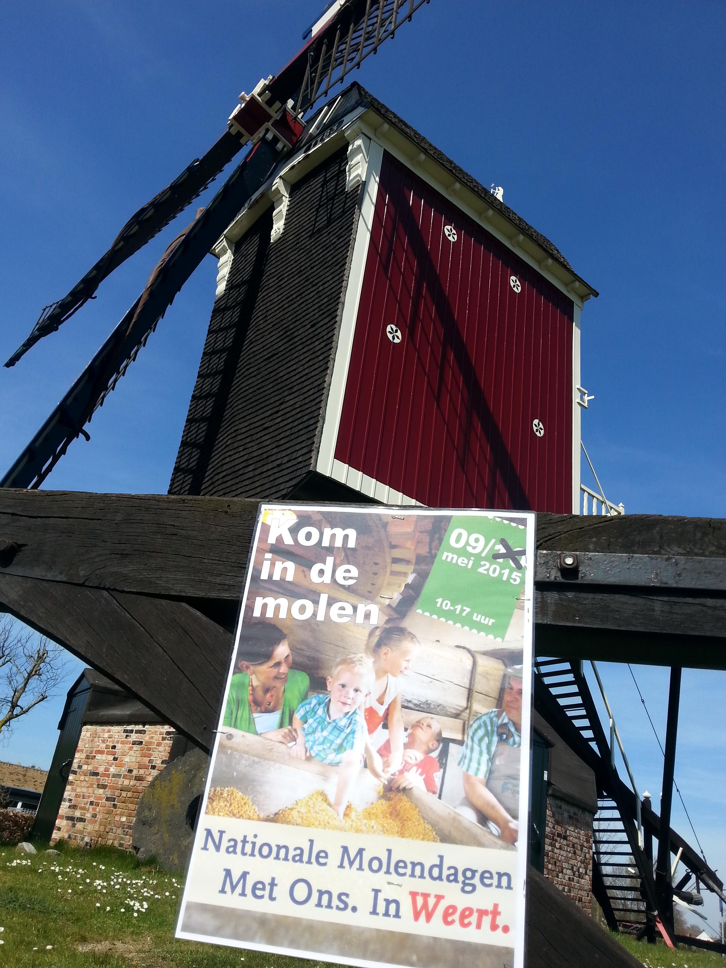 Bij  molen Sint Jan in Stramproy