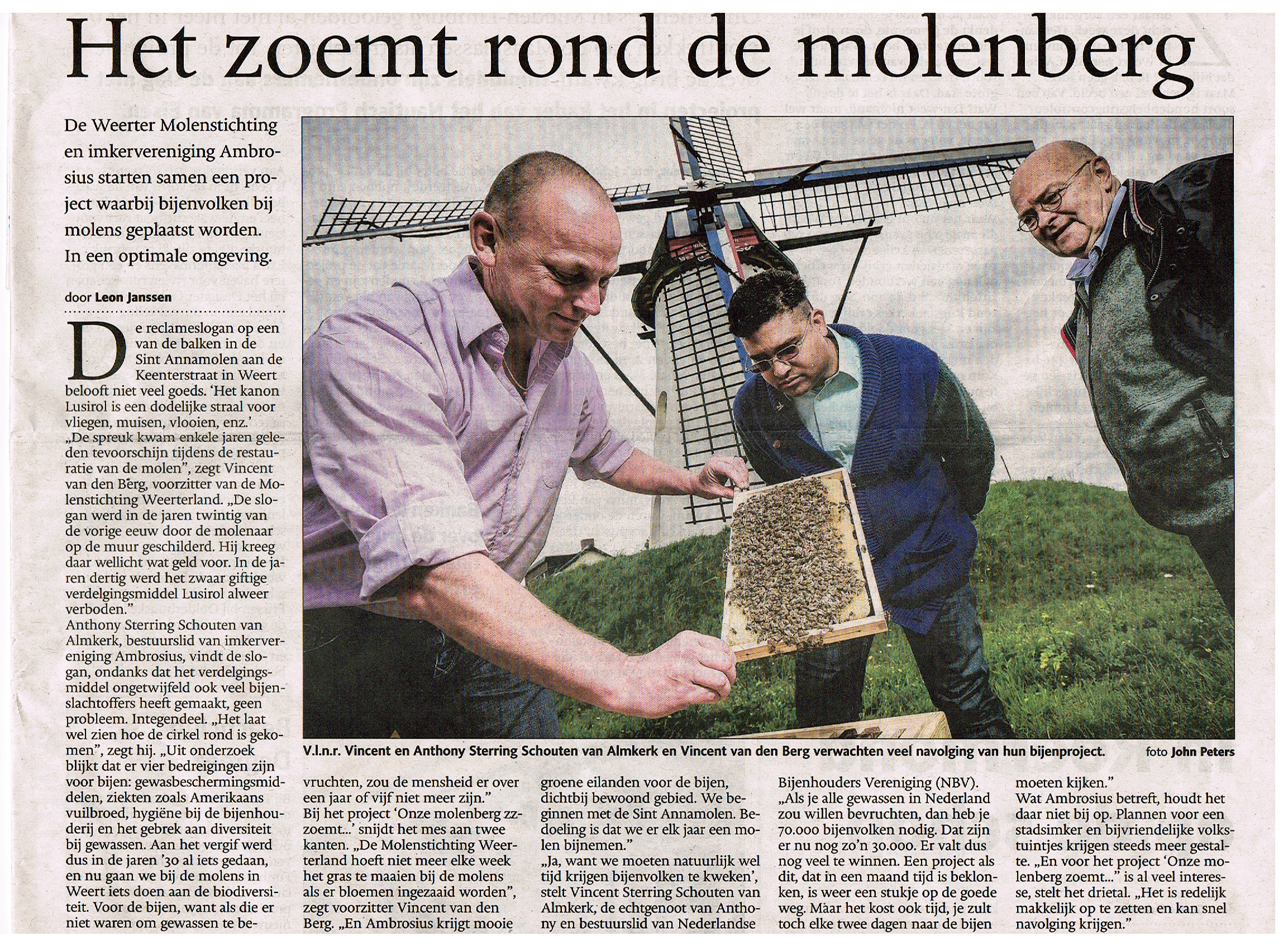 Dagblad De Limburger, 30 mei 2015