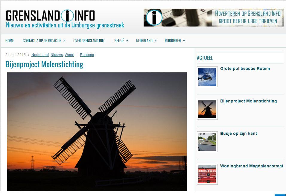 Grensland Info van 25-05-2015 Nieuwswebsite voor Belgisch en Nederrlands Limburg