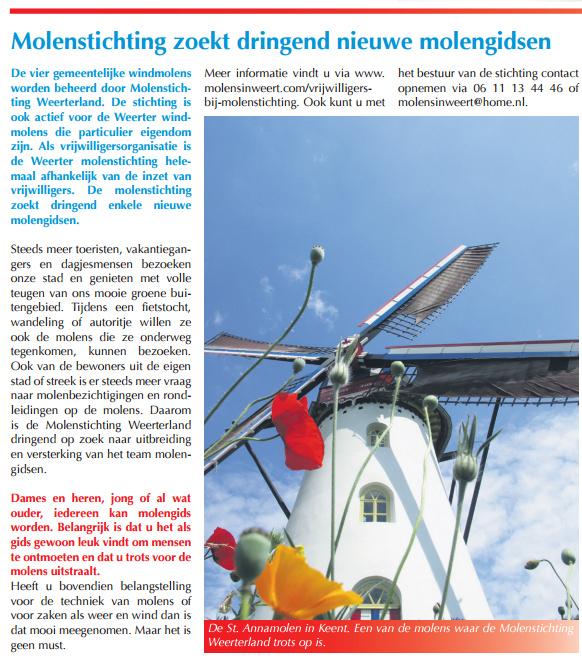 Voorlichtingsblad gemeente Weert van 27 mei 2015