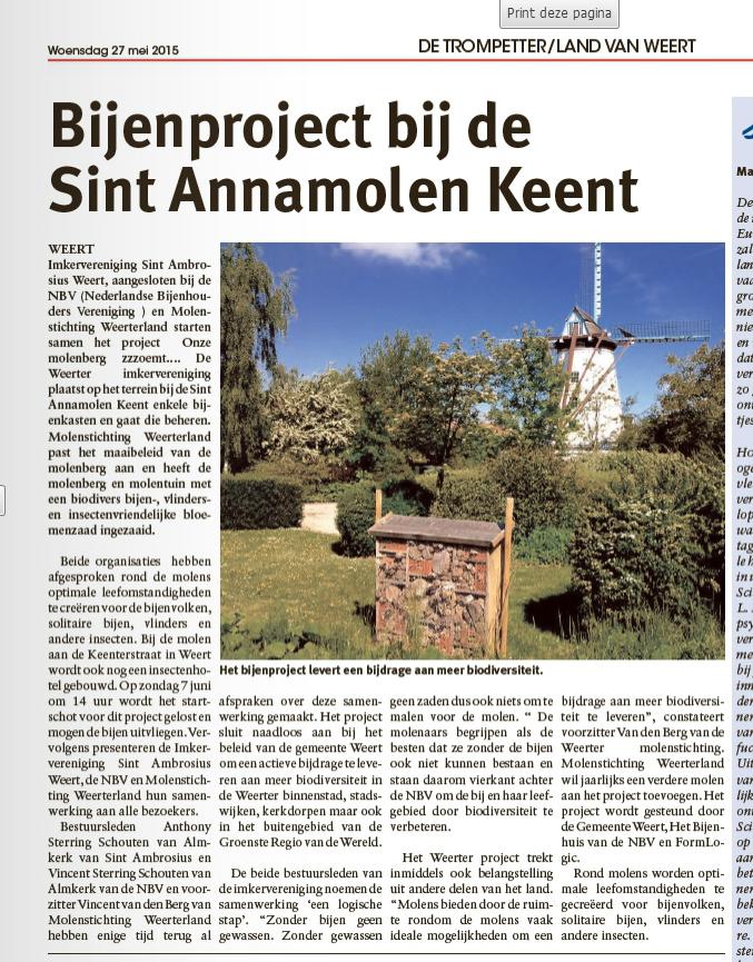 De Trompetter/Land van Weert, 27 mei 2015