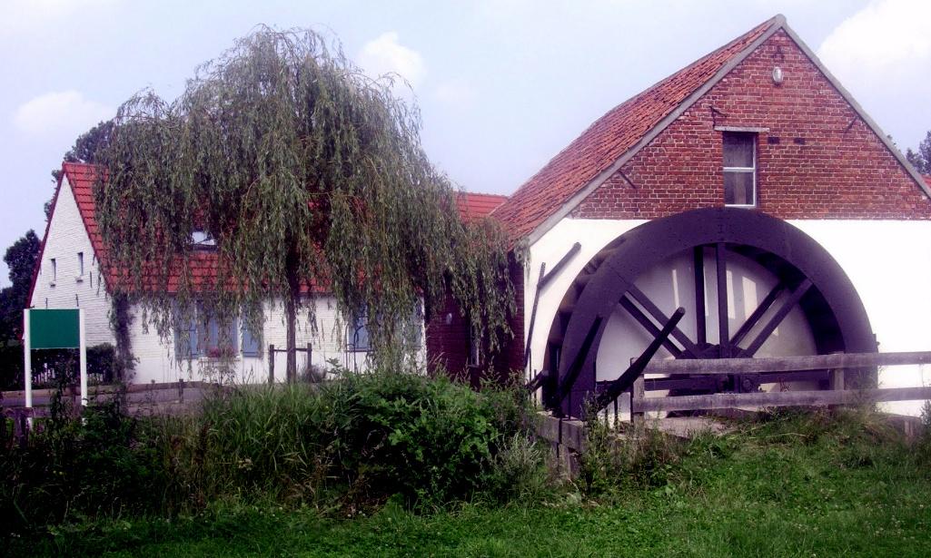 De Voorste Luysmolen in Bocholt.