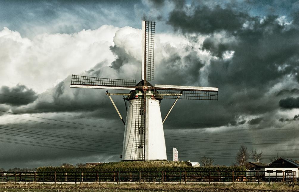 Donkere wolken komende jaren boven het  molenonderhoud?