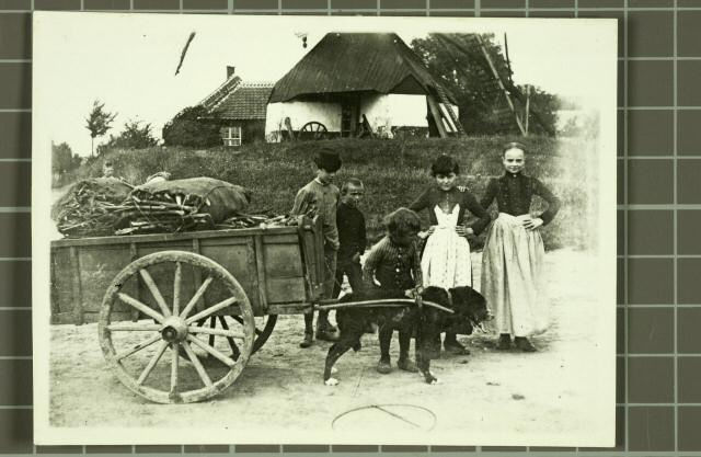 Binnenmolen hondenkar 1890