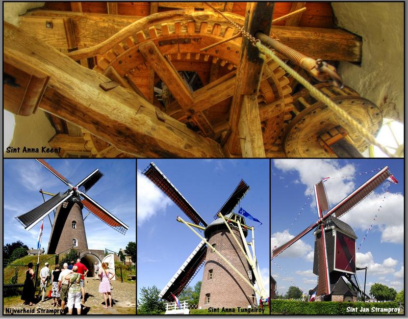 Vier door de molenstichting beheerde windmolens zijn genomineerd