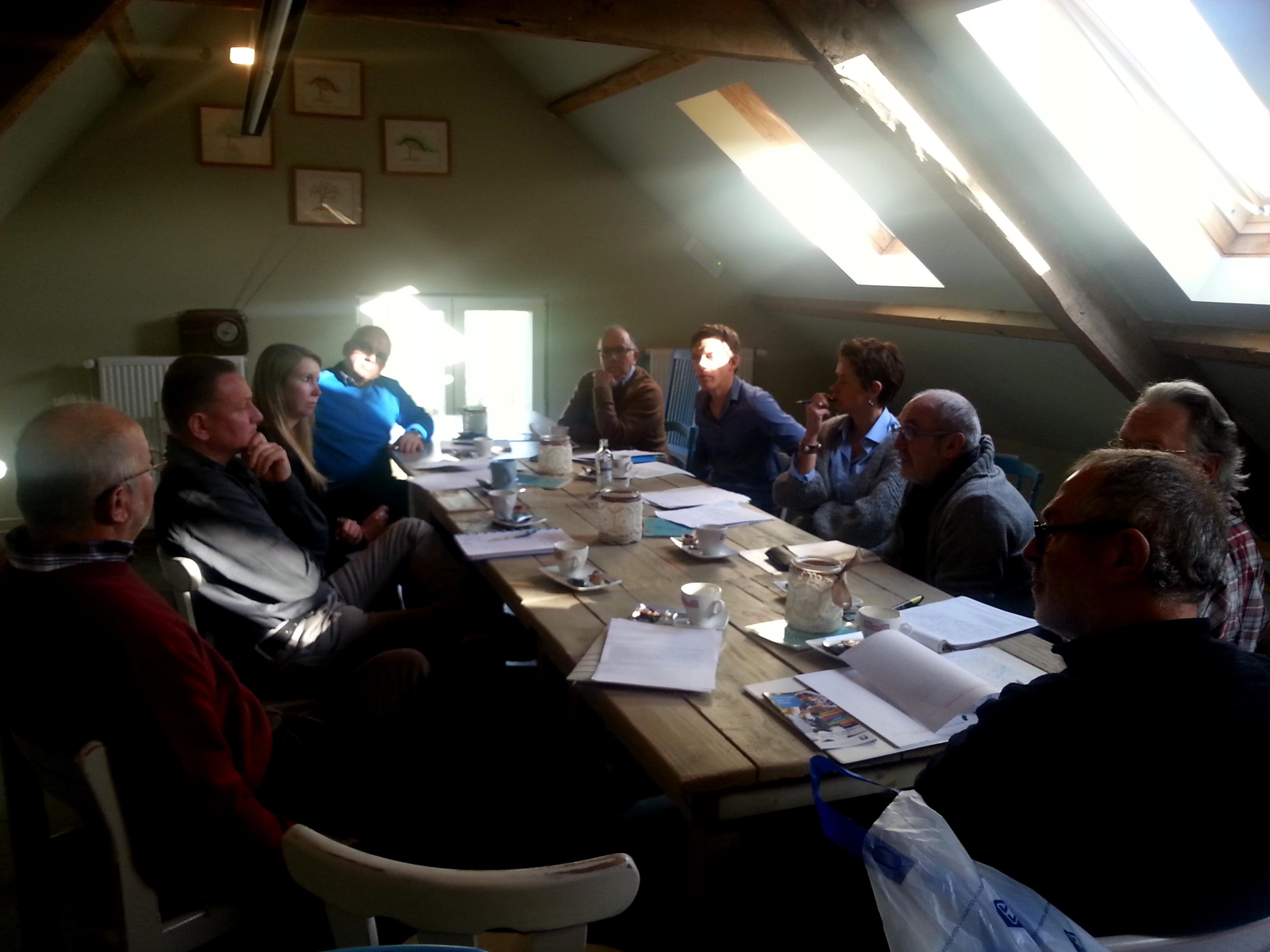 Overleg over de oprichting van een molennetwerk Kempen~Broek