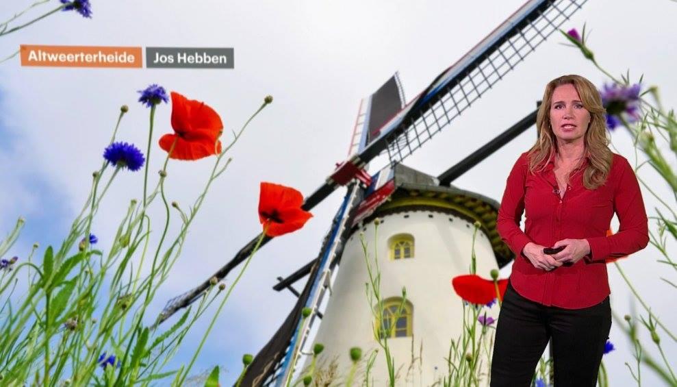 Bij RTL Weert met Helga van Leur