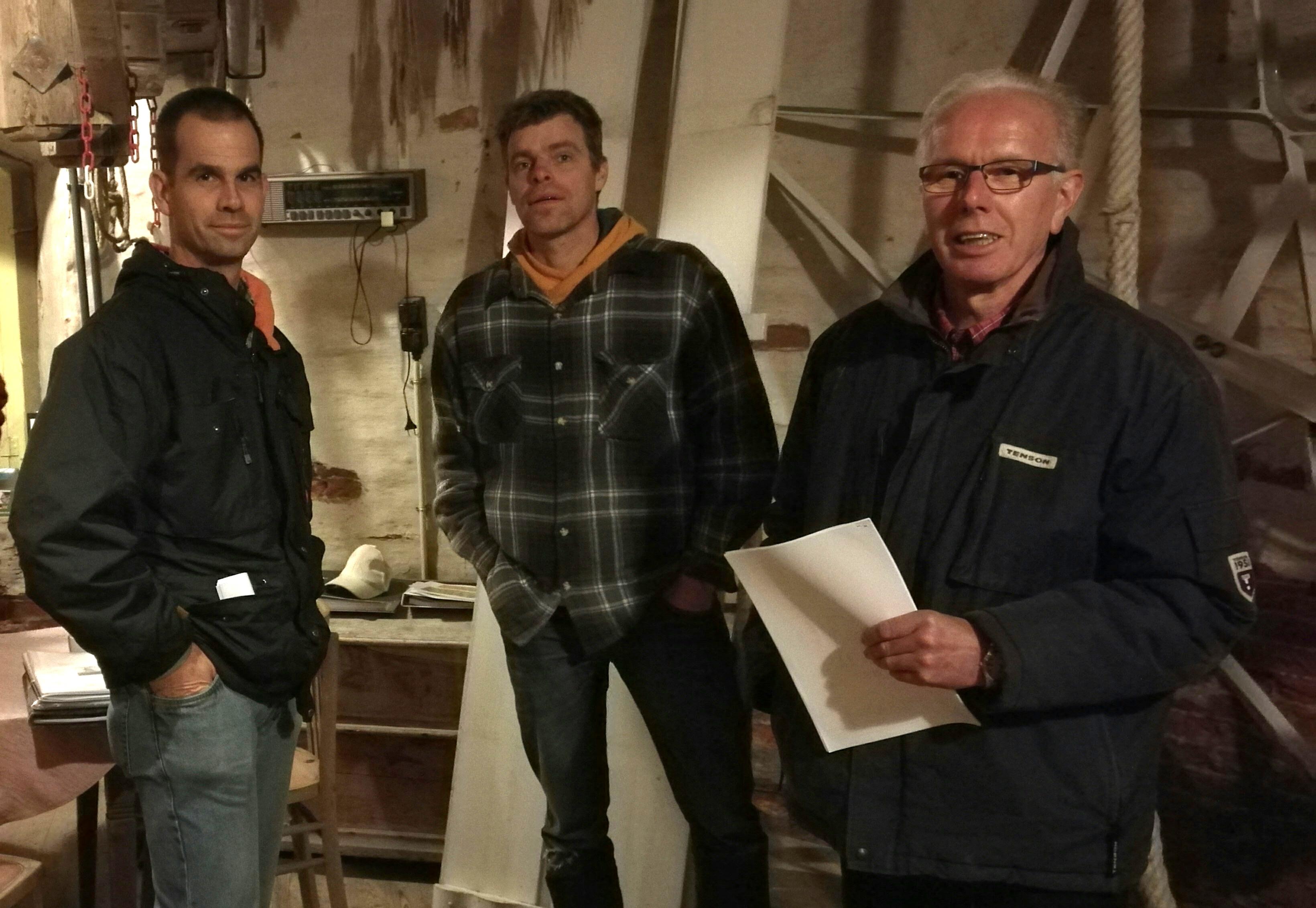 Een nieuwe ploeg molenaars in Tungelroy